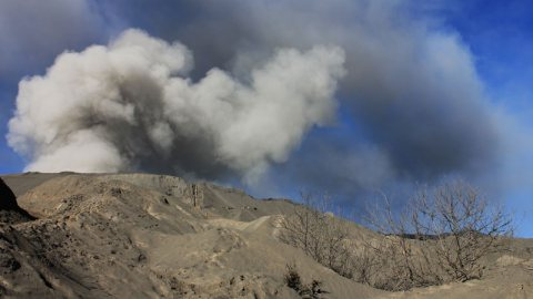 Post-Eruption Mount Bromo – East Java, Indonesia