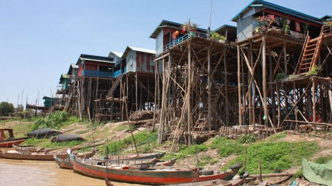 Kampong Phluk: The Water Village… With No Water –  Cambodia