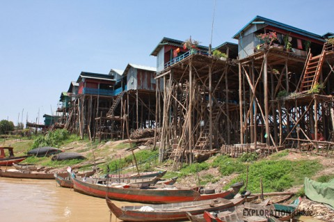 The Water Village Of Kampong Phluk… With No Water –  Cambodia