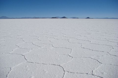 Otherworldly Uyuni Salt Flats (Salar de Uyuni), Bolivia
