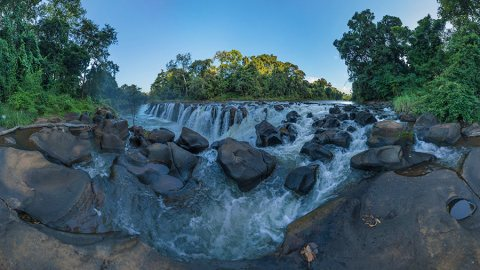 Waterfall Hopping On The Bolaven Plateau, Laos