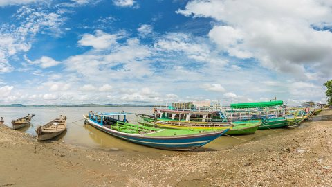 Along The Irrawaddy River, The Lifeblood of Myanmar