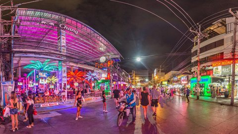 Phuket After Sunset: From Patong Beach To Bangla Road, Thailand