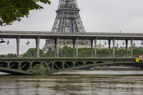 May 2016 Flood in Paris, France