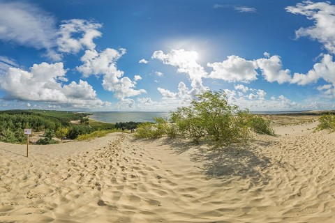 Curonian Spit, Lithuania – Sand Dunes, Baltic Beach & Russian Border in Nida
