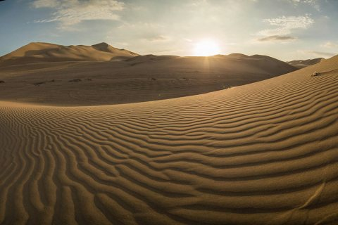 Huacachina, Ica, Peru: Desert Oasis and Giant Sand Dunes