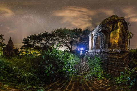 Night Exploration of the Temples of Bagan, Myanmar