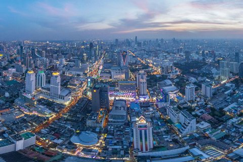 Baiyoke Tower Bangkok – Bangkok From the Sky at Sunset, Thailand