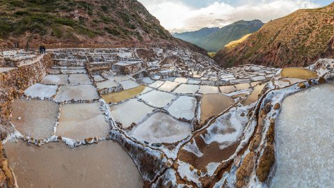 Maras Salt Ponds – Amazing Terraced Pans Inherited From The Incas, Peru