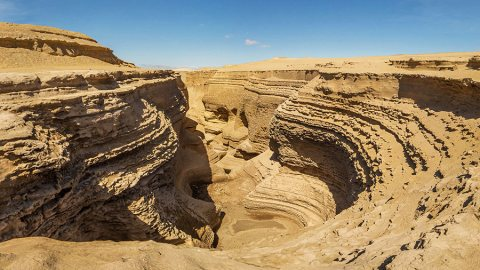 Lost Canyon in Ica, An Exploration of The Peruvian Coastal Desert