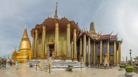 Visit of The Flamboyant Grand Palace of Bangkok, Thailand