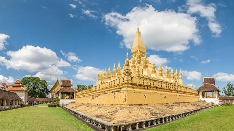 Pha That Luang, Vientiane – One of The Most Famous Monuments in Laos