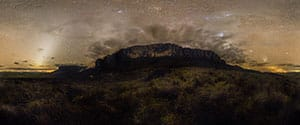 Mount Roraima by Night